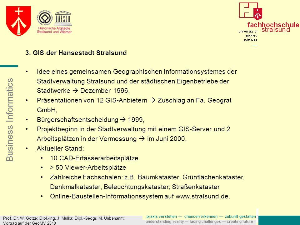 3. GIS der Hansestadt Stralsund