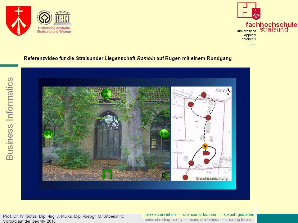 Referenzvideo für die Stralsunder Liegenschaft Rambin auf Rügen mit einem Rundgang