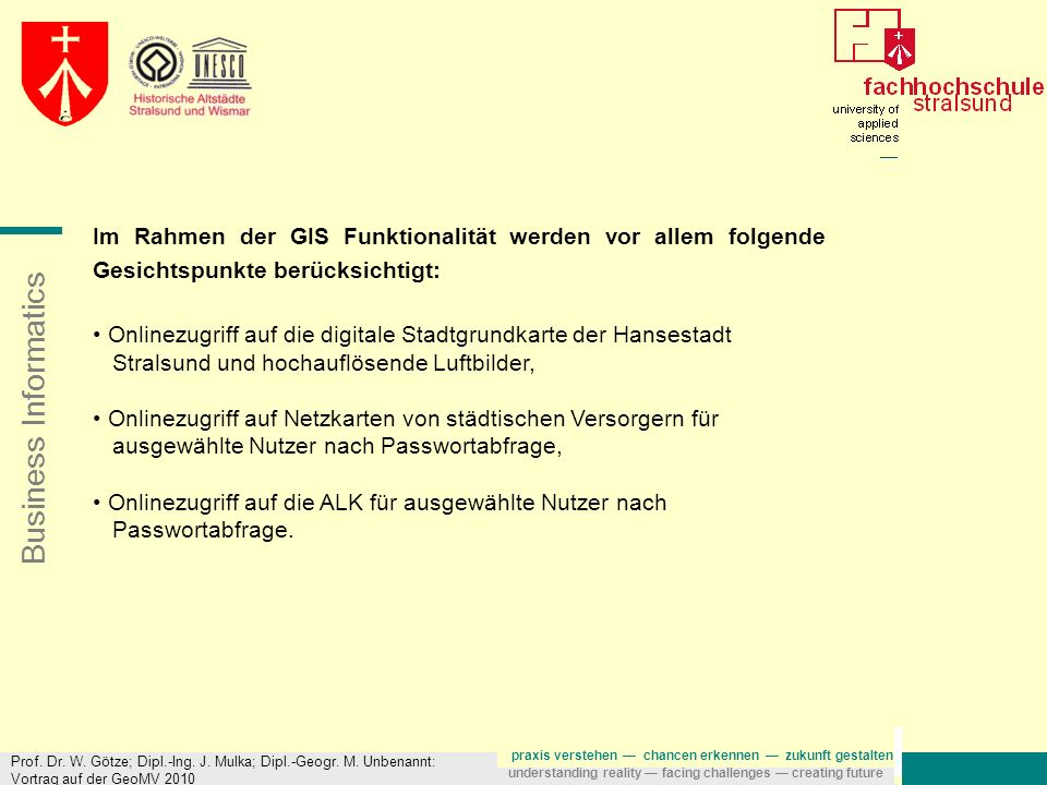 Onlinezugriff auf die digitale Stadtgrundkarte der Hansestadt
