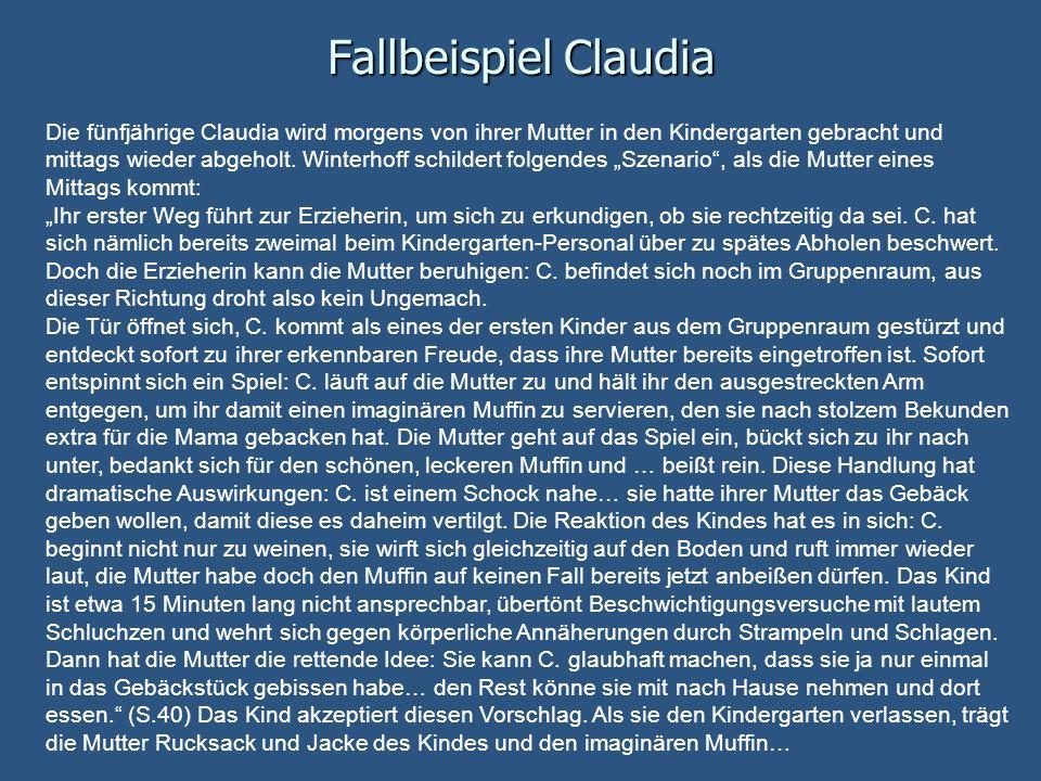 Fallbeispiel Claudia