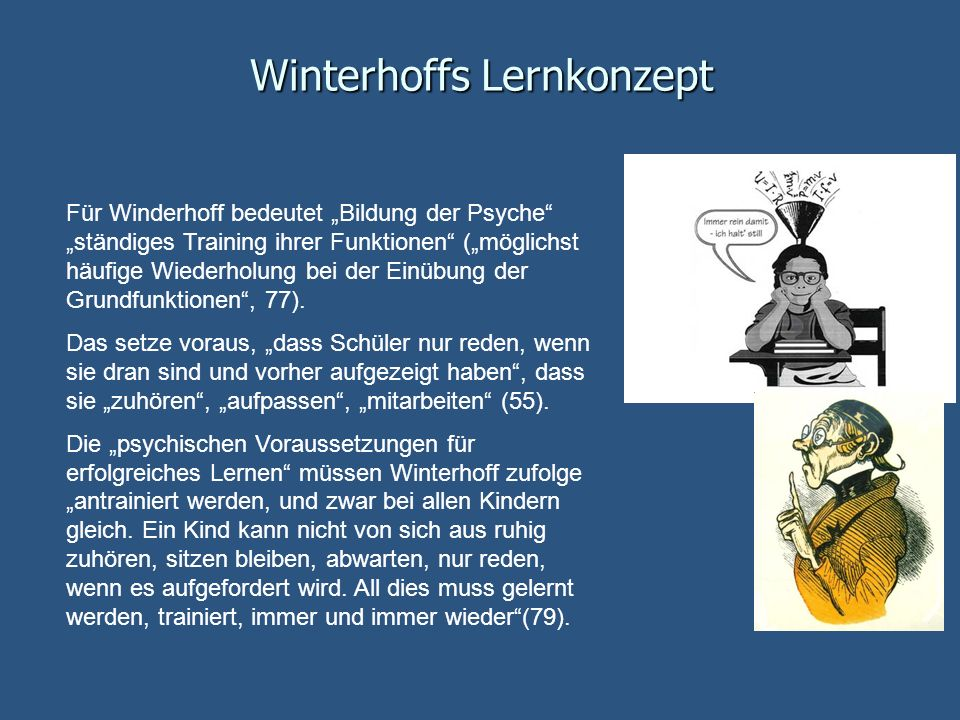 Winterhoffs Lernkonzept