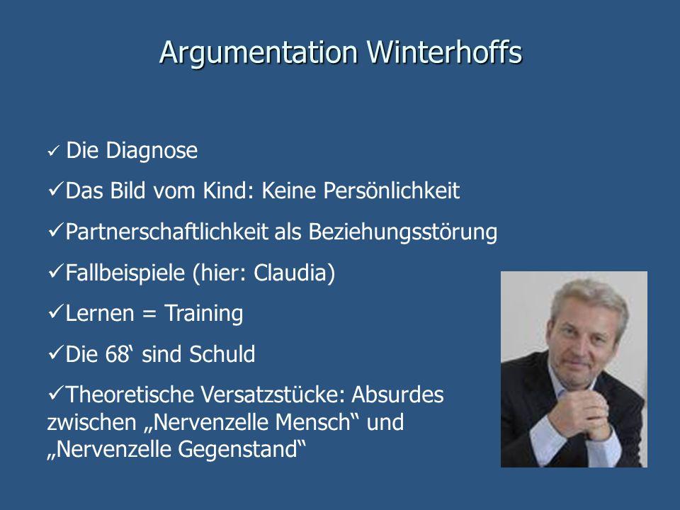 Argumentation Winterhoffs