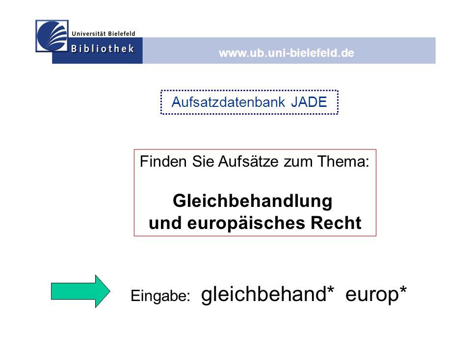 und europäisches Recht