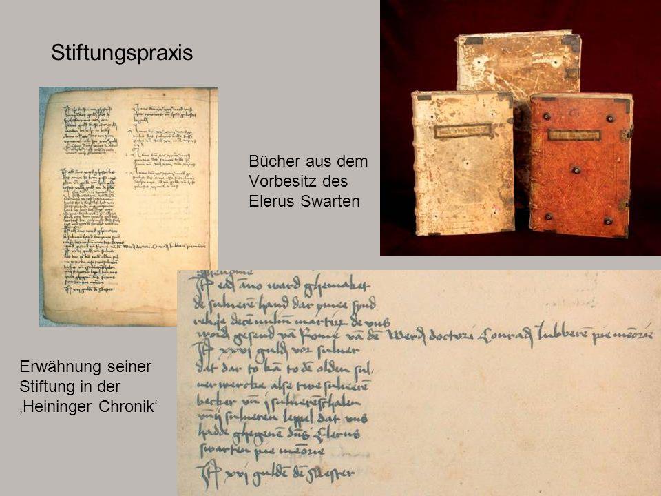 Bücher aus dem Vorbesitz des Elerus Swarten