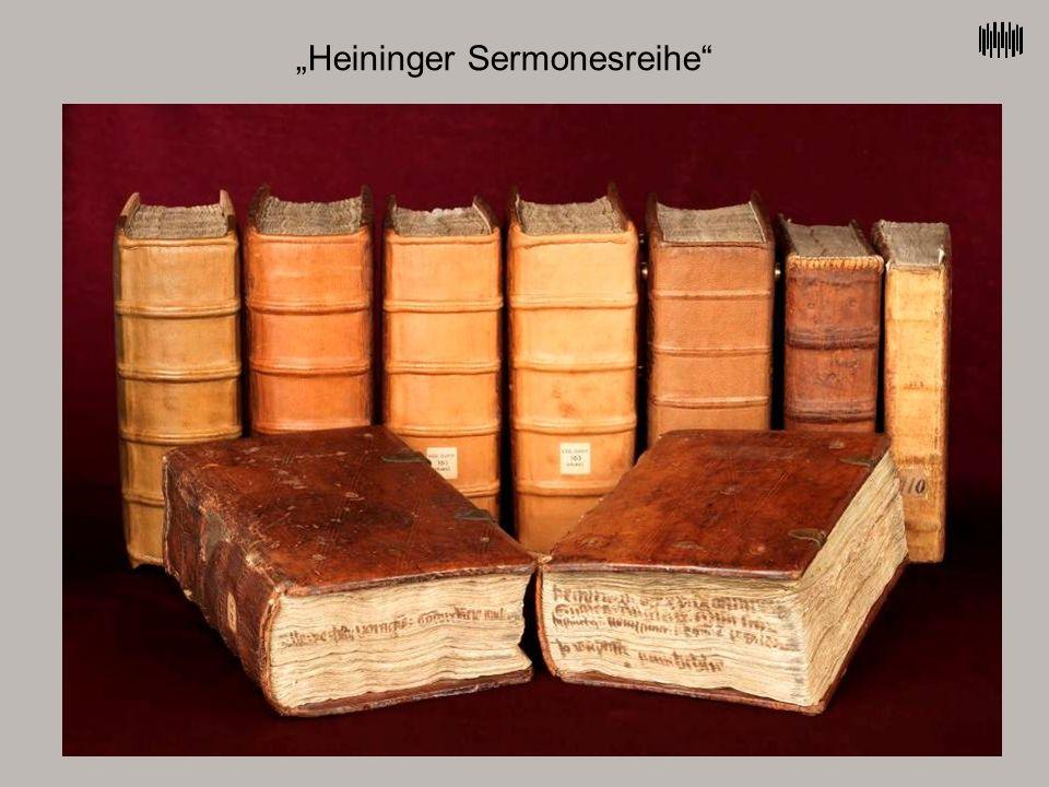 """Heininger Sermonesreihe"