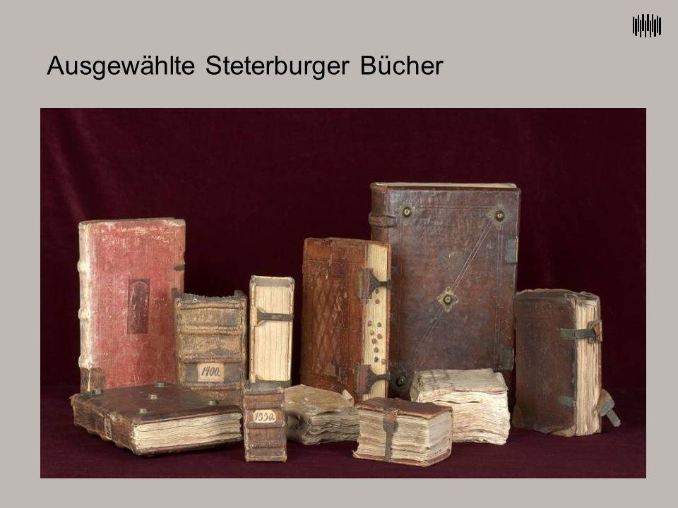 Ausgewählte Steterburger Bücher