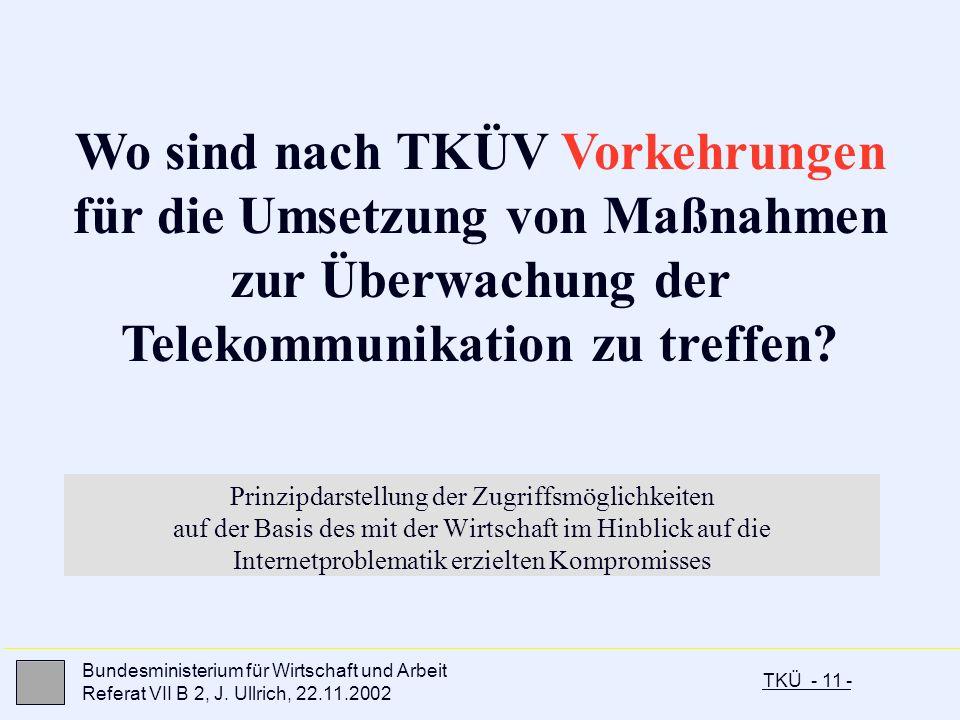 Wo sind nach TKÜV Vorkehrungen für die Umsetzung von Maßnahmen zur Überwachung der Telekommunikation zu treffen