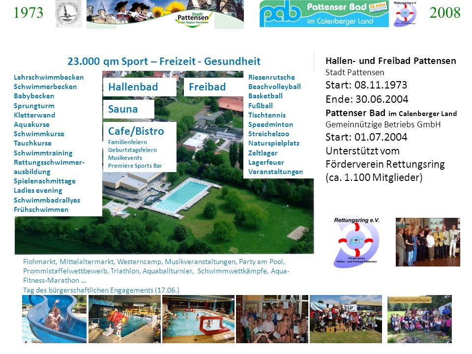 23.000 qm Sport – Freizeit - Gesundheit