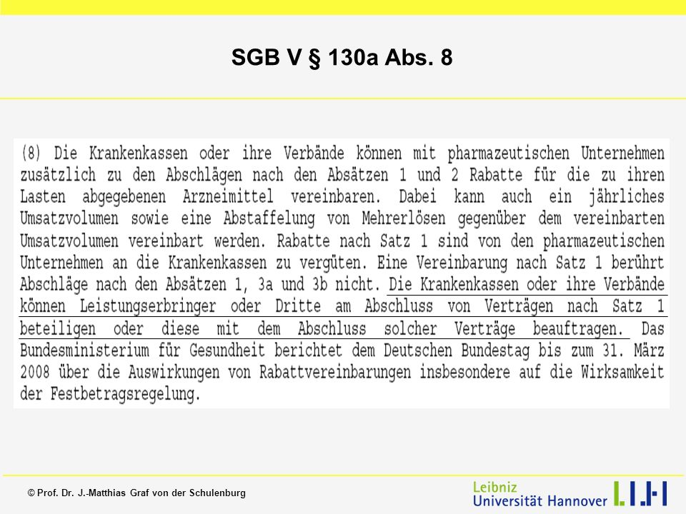 SGB V § 130a Abs. 8