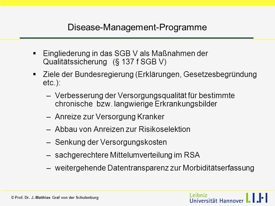 Disease-Management-Programme