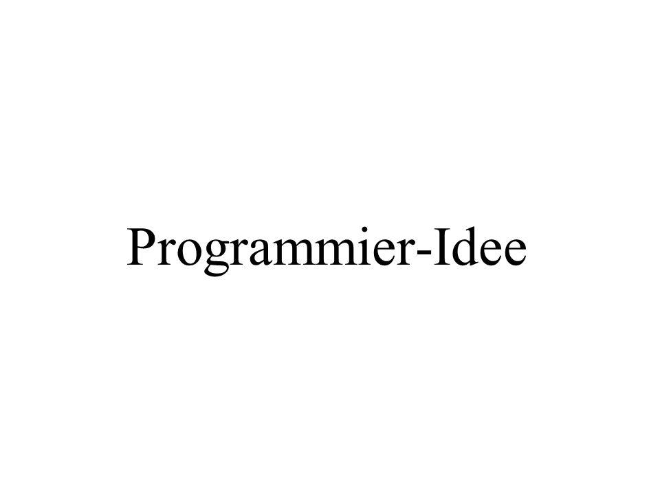 Programmier-Idee