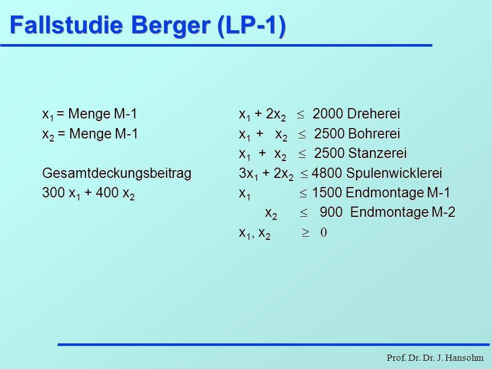 Fallstudie Berger (LP-1)