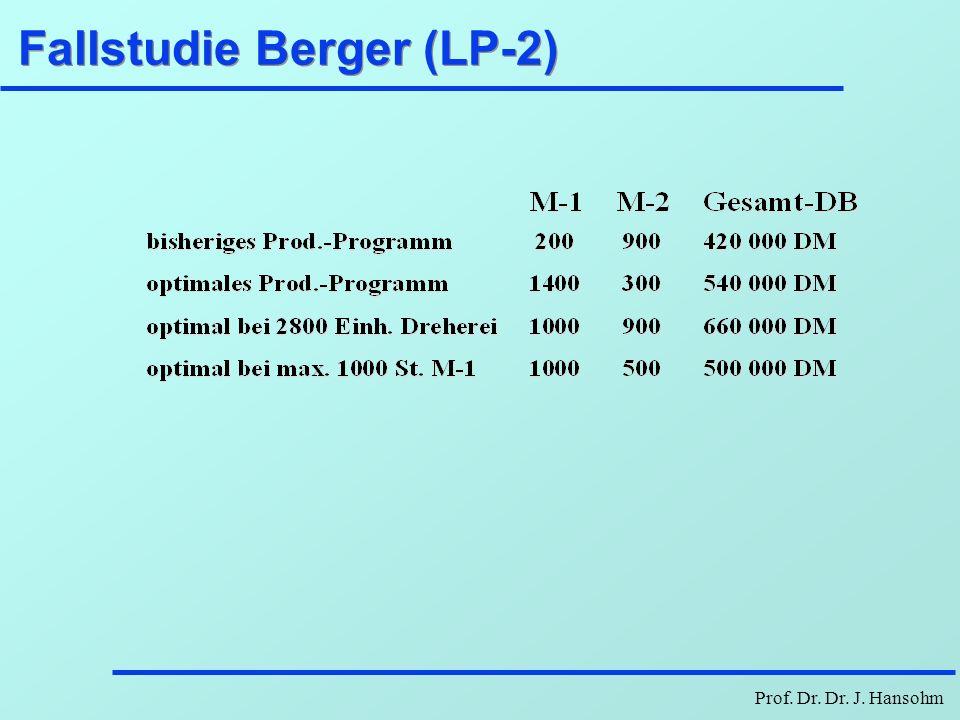 Fallstudie Berger (LP-2)