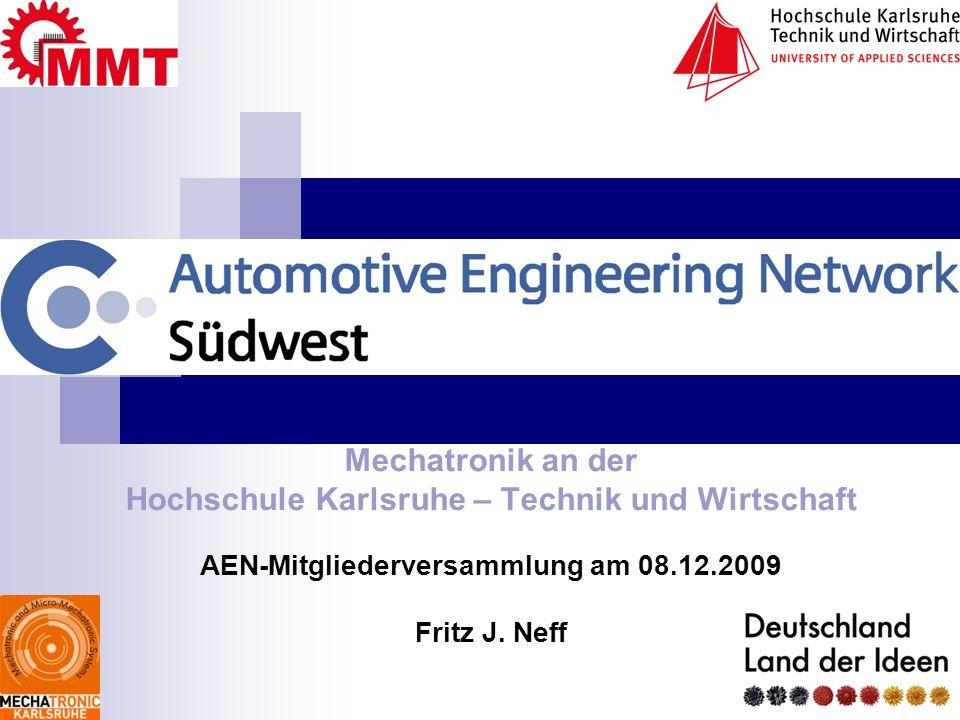 Mechatronik an der Hochschule Karlsruhe – Technik und Wirtschaft