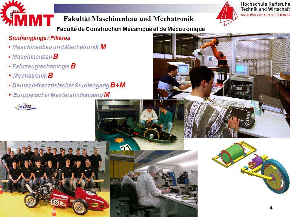 Fakultät Maschinenbau und Mechatronik