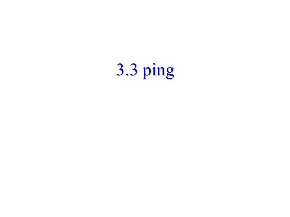 3.3 ping