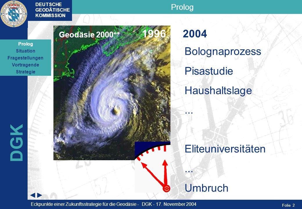 DGK 2004 Bolognaprozess Pisastudie Haushaltslage ...