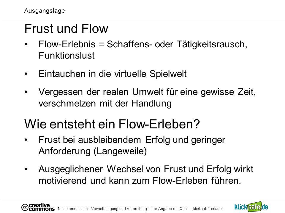 Wie entsteht ein Flow-Erleben
