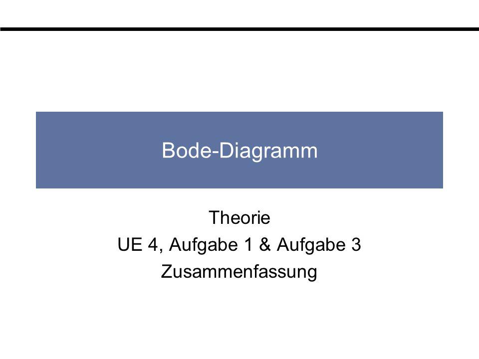 Theorie UE 4, Aufgabe 1 & Aufgabe 3 Zusammenfassung