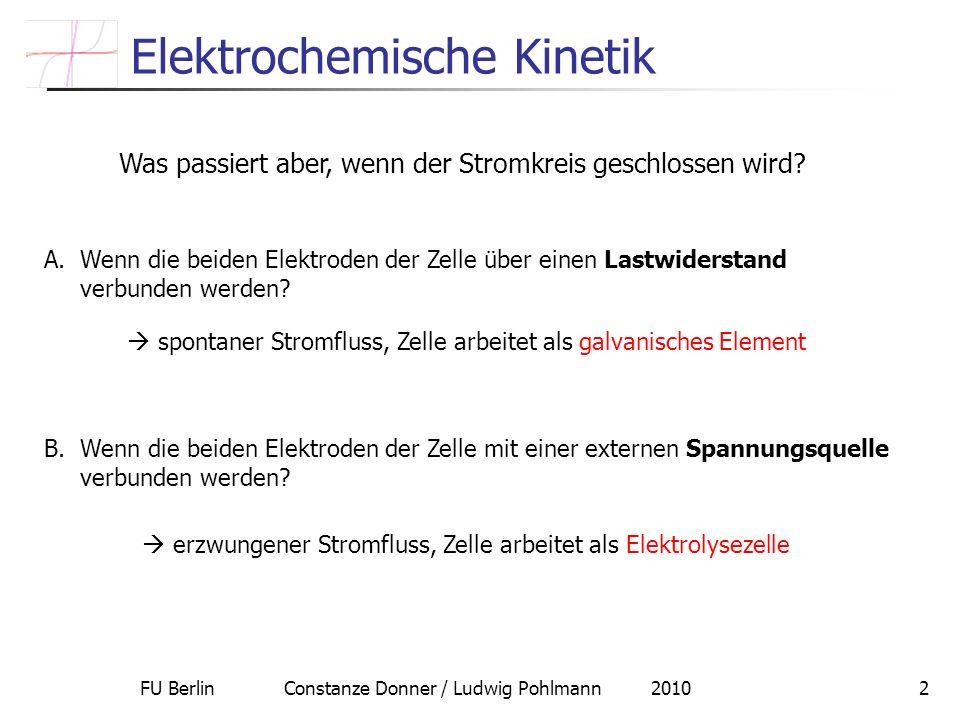 Elektrochemische Kinetik