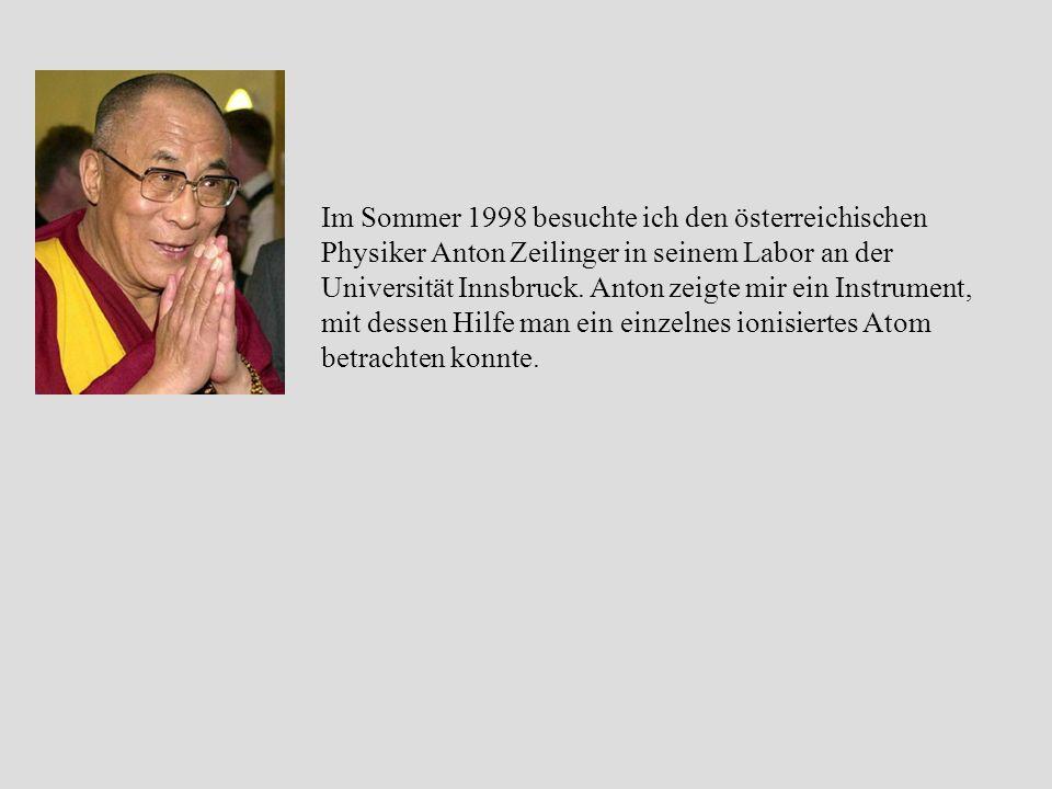 Im Sommer 1998 besuchte ich den österreichischen