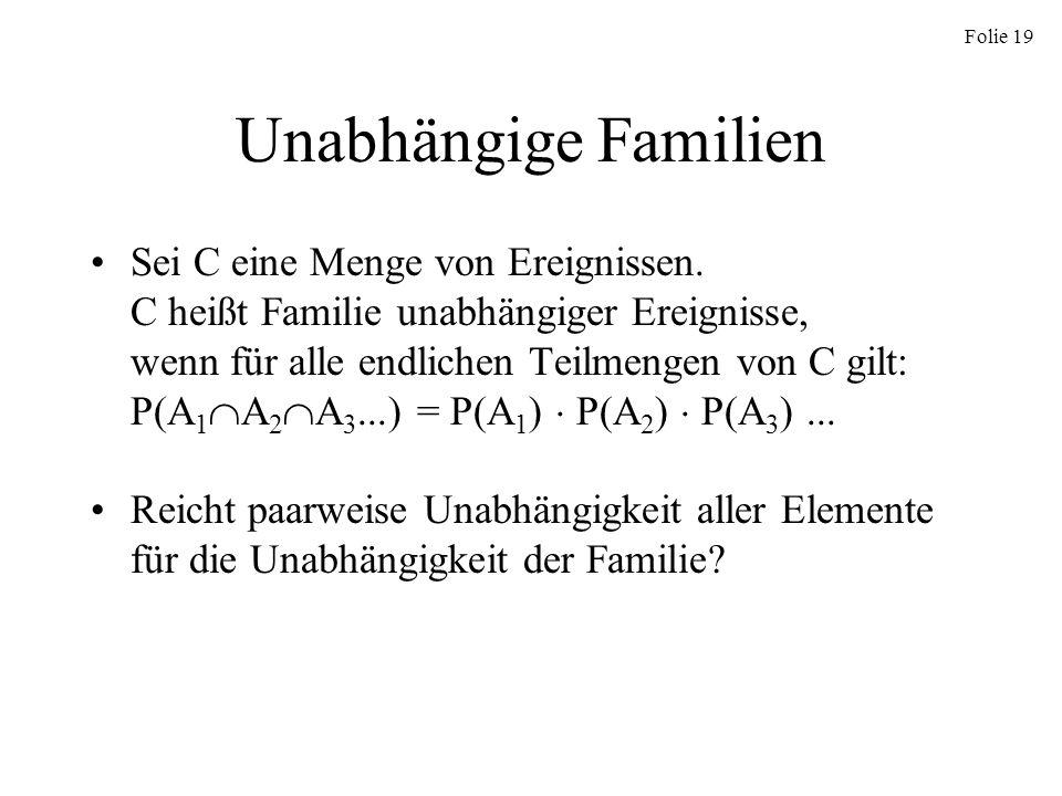 Unabhängige Familien
