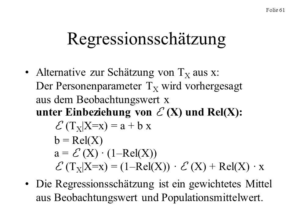 Regressionsschätzung