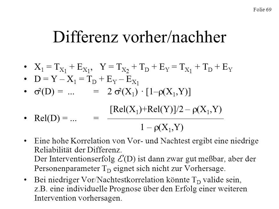 Differenz vorher/nachher