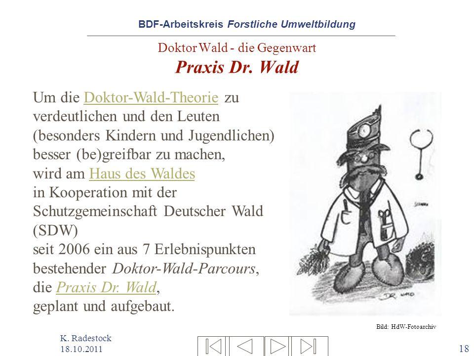 Doktor Wald - die Gegenwart Praxis Dr. Wald