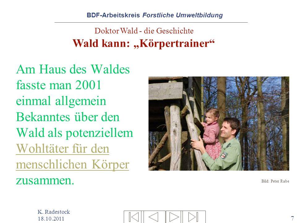 Am Haus des Waldes fasste man 2001 einmal allgemein Bekanntes über den
