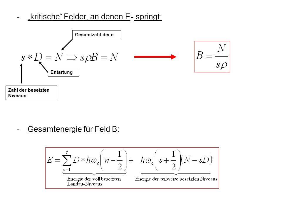 """- """"kritische Felder, an denen EF springt:"""