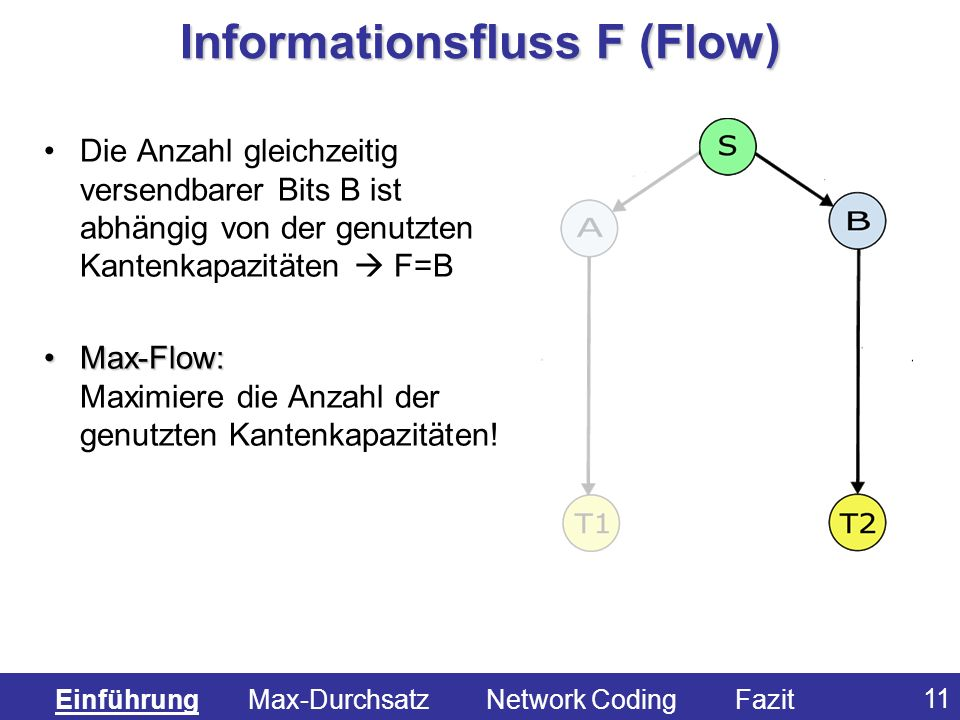 Informationsfluss F (Flow)