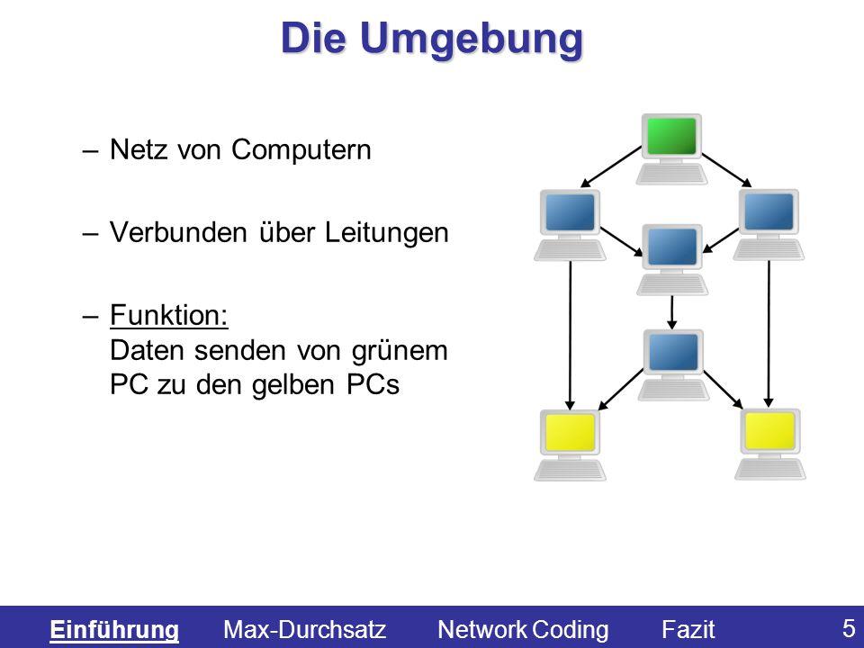 Die Umgebung Netz von Computern Verbunden über Leitungen