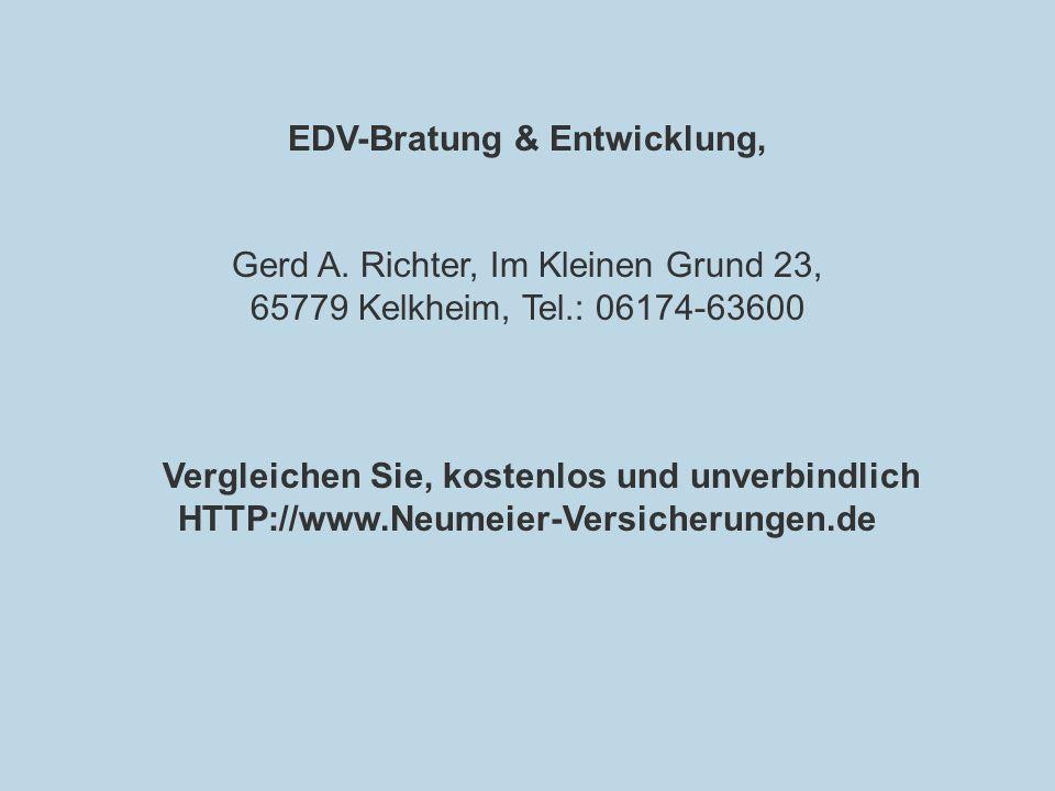 EDV-Bratung & Entwicklung,