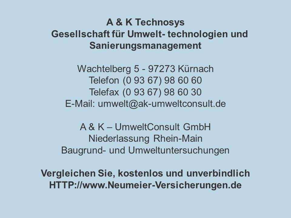 Gesellschaft für Umwelt- technologien und Sanierungsmanagement