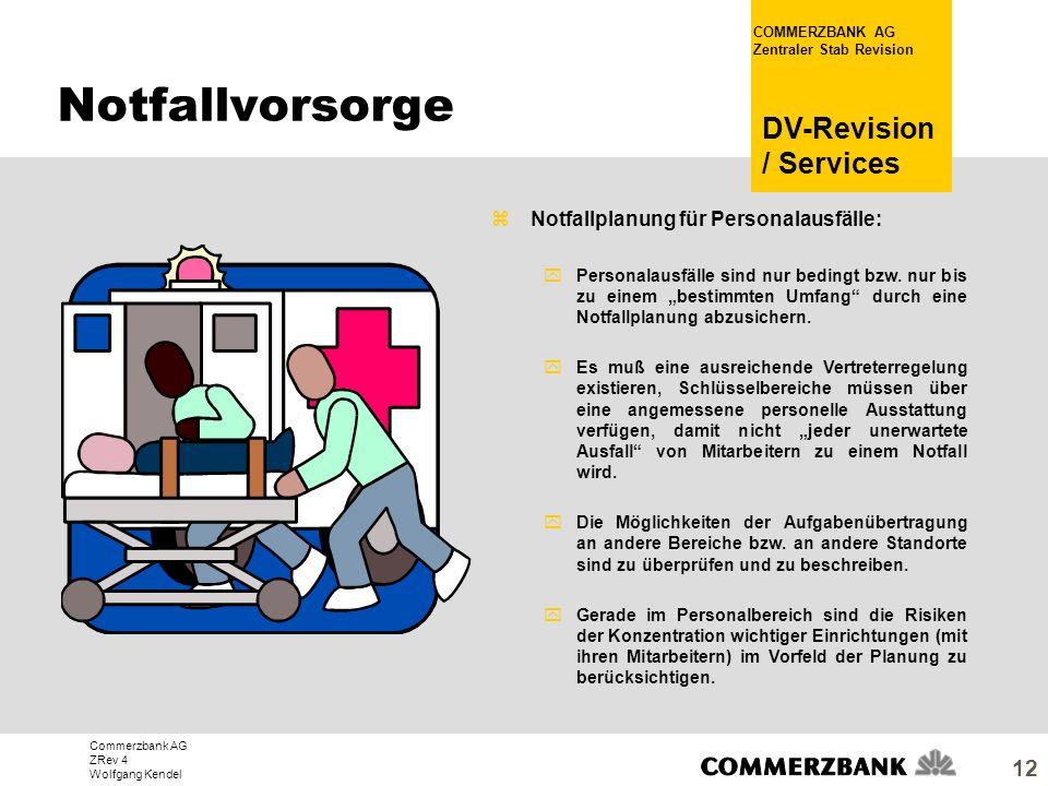 Notfallvorsorge Notfallplanung für Personalausfälle: 25.03.2017