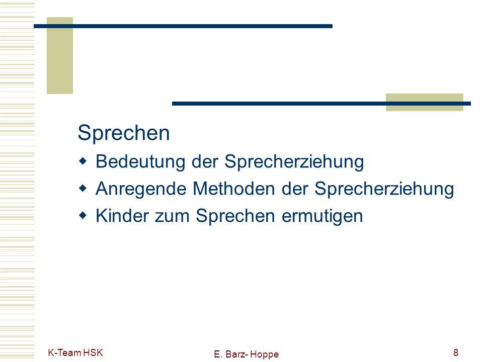 Sprechen Bedeutung der Sprecherziehung