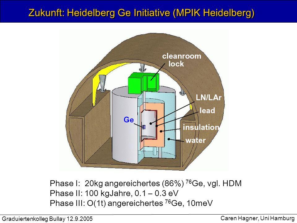 Zukunft: Heidelberg Ge Initiative (MPIK Heidelberg)