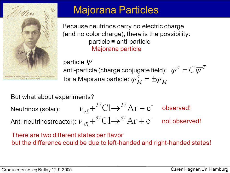 Majorana Particles