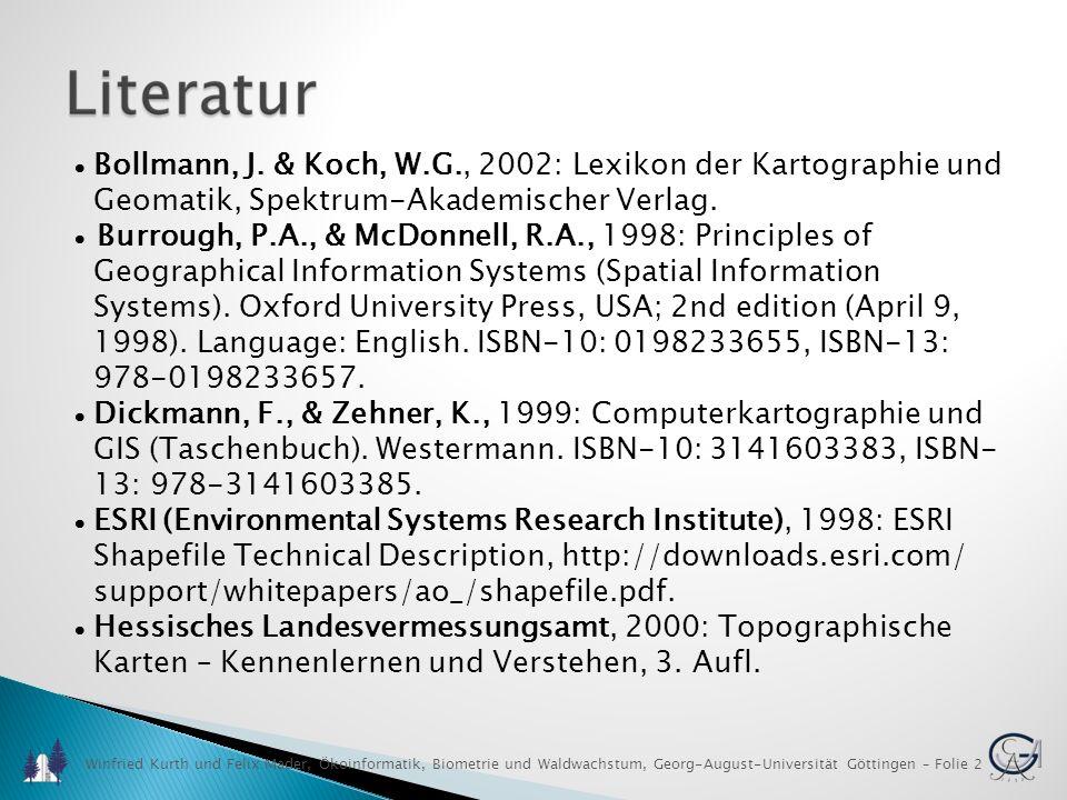 Geomatik, Spektrum-Akademischer Verlag.