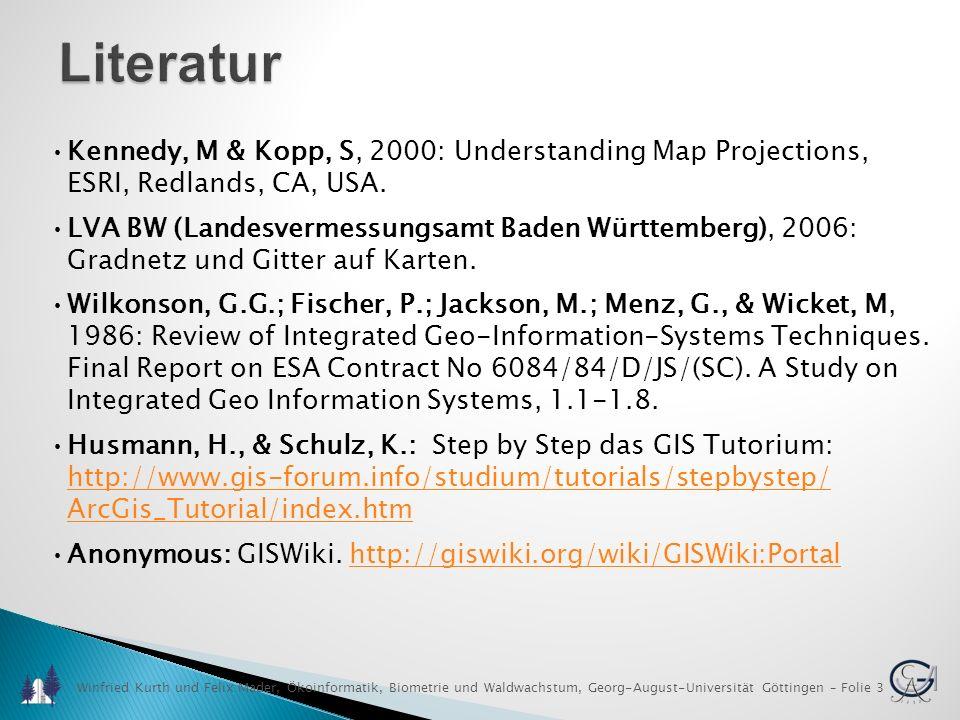 Raumbezogene Informationssysteme (GIS I)