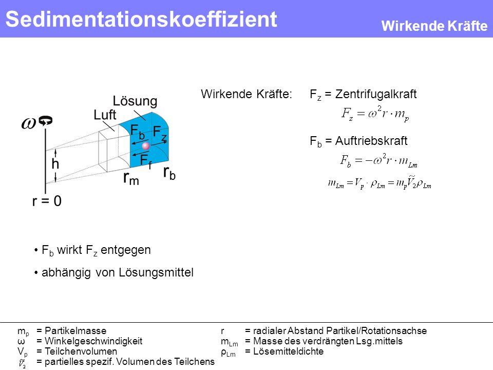 Sedimentationskoeffizient
