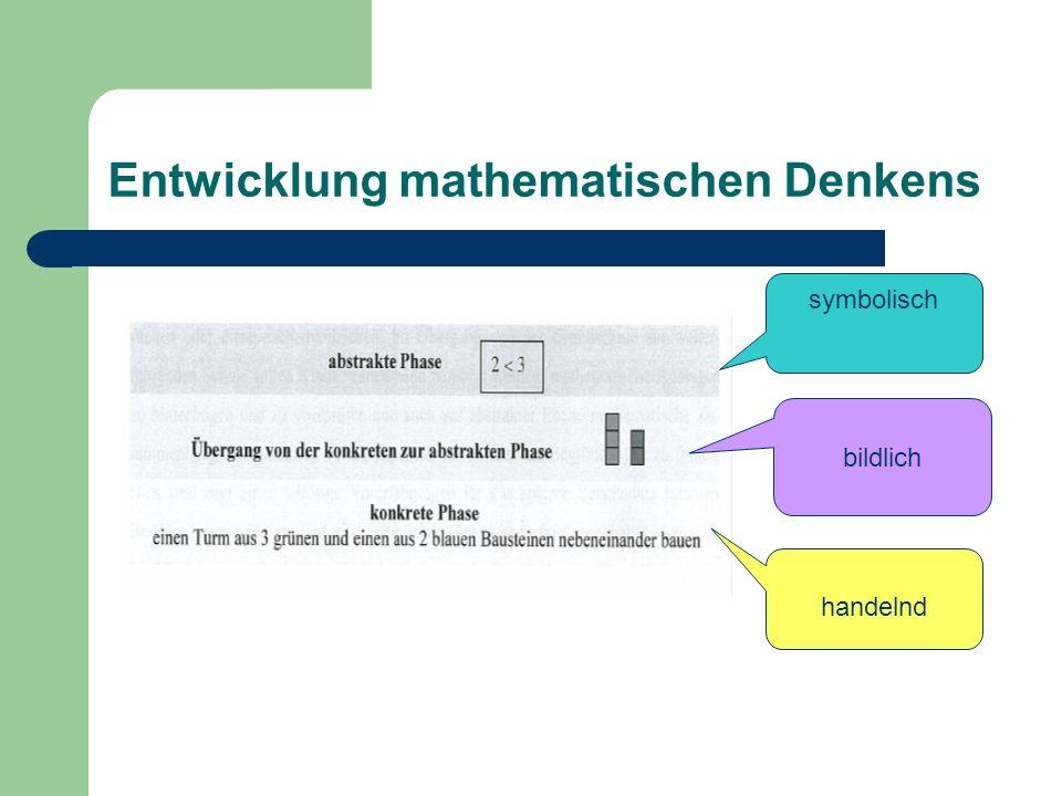 Entwicklung mathematischen Denkens