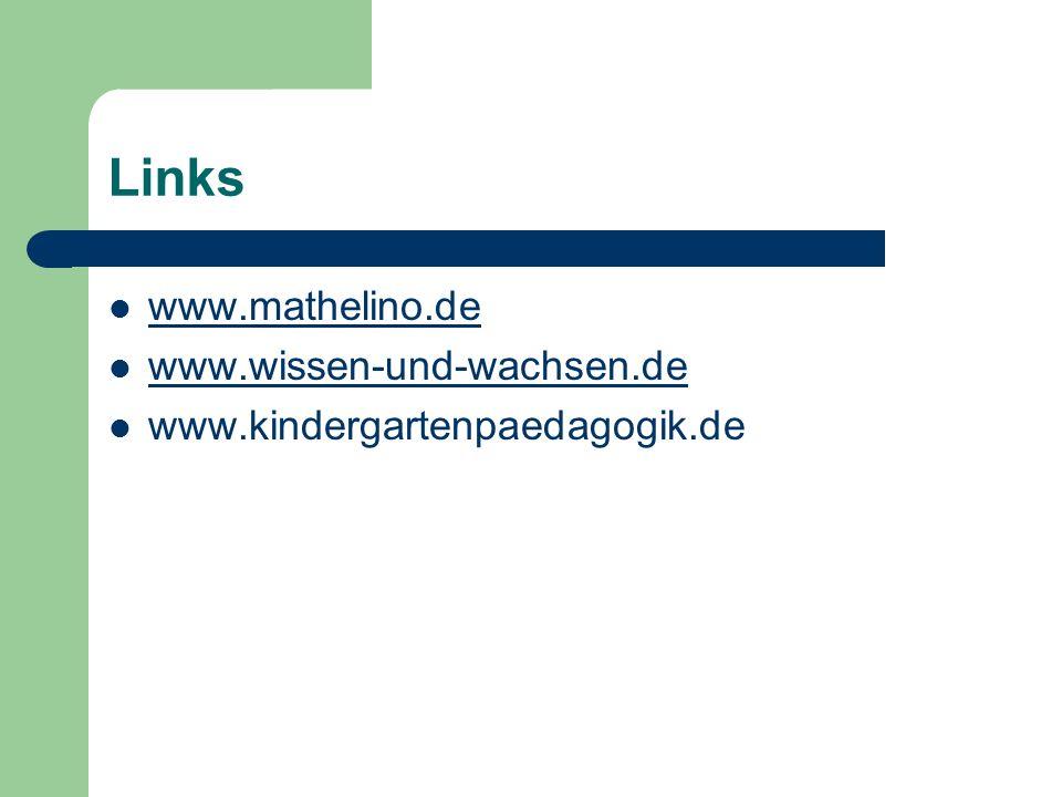Links www.mathelino.de www.wissen-und-wachsen.de