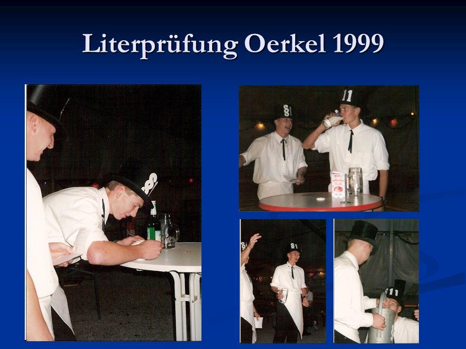 Literprüfung Oerkel 1999