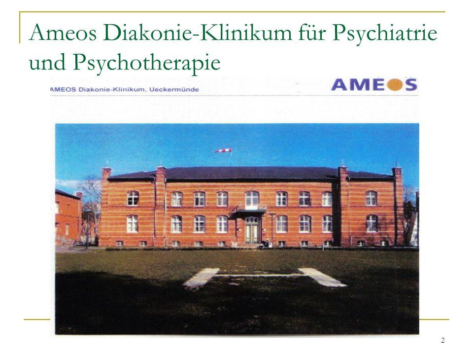 Ameos Diakonie-Klinikum für Psychiatrie und Psychotherapie