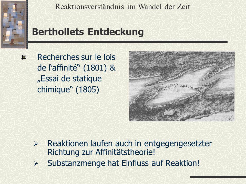 Berthollets Entdeckung