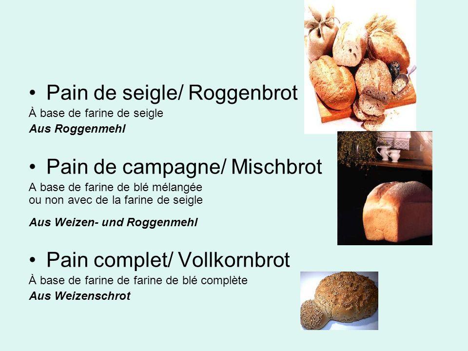 Pain de seigle/ Roggenbrot