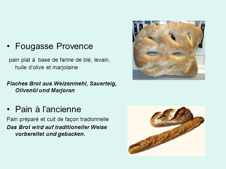 pain plat à base de farine de blé, levain, huile d'olive et marjolaine