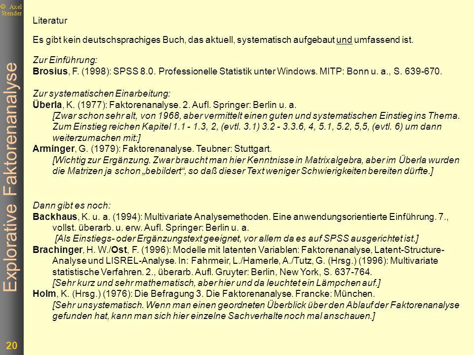 LiteraturEs gibt kein deutschsprachiges Buch, das aktuell, systematisch aufgebaut und umfassend ist.